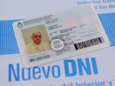 Pope renews Argentine passport, ID card