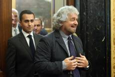 Grillo erupts during Renzi talks, rants in press conference