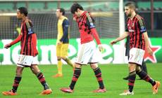 Soccer: Milan curse luck, but refuse to give up
