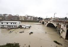 Torrential rain cost Rome 243 million euros