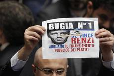 M5S tell House to snap out of Renzi-induced 'hypnosis'