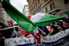 Lawyers march in Rome to protest reforms