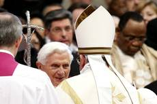Benedict says reports he was forced out are 'absurd'