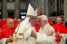 Pope says Benedict XVI should return to Church life