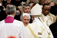 'Church needs your courage', pope tells new cardinals