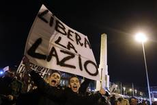 Soccer: Lazio chairman resolute amid protests, threats