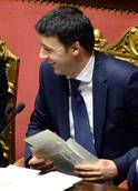Italian Senate session suspended before confidence vote