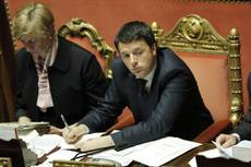 Renzi vows sweeping reforms in first confidence test