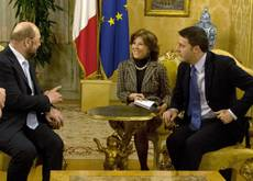 Renzi announces new members of his pared-down executive