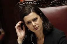 Boldrini blames threats on 'overheated' politics