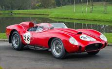 Ferrari racecar prototype nets record price in UK