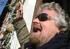 Grillo 9-mth term sought for high-speed rail protest