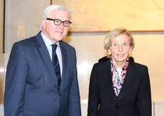 German foreign minister praises Italy on reforms process