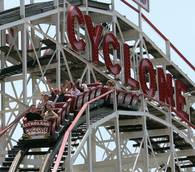 Coney Island's new Thunderbolt, made by Italy's Zamperla