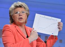 Reding rules out Berlusconi standing at EP elections