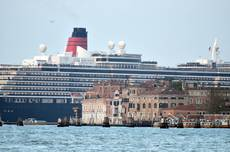 Legambiente slams suspending ban on big Venice cruise ships