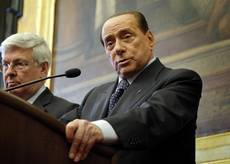 FI whip says he can't imagine Berlusconi out of campaign