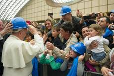Pope says unemployed 'at risk of social exclusion'