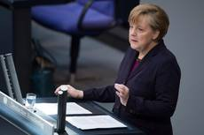 German chancellor talks gas supply at EU summit