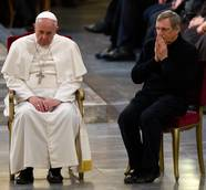 Pope to the mafia, 'Please, repent!'