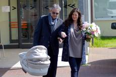 Bocelli to wed on daughter's second birthday