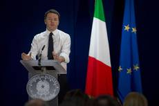 Renzi says no conflicts with Italy, EU