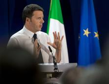 Japanese PM says Italian economy 'dependent' on Renzi