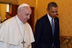 Obama has 50-minute meeting with Pope Francis