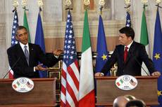 Renzi asks Obama for more support on marines in India