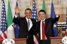 Renzi hopes to see US-EU free-trade treaty this year