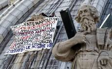 St Peter's protester spends night in Vatican cells