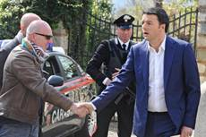 Renzi meets Cameron in Downing Street