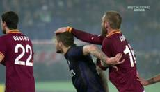 Soccer: Roma's De Rossi banned for three matches for punch