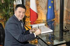 EU must stand up to Putin says Renzi