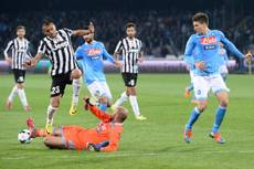 >>>ANSA/ Soccer: Juve blame fatigue for Napoli defeat