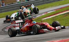 F1: Ferrari admit F14-T not yet fast enough