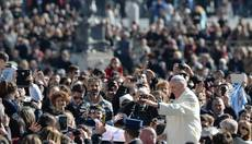 Pope rides high in approval ratings on anniversary eve