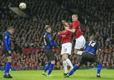 Soccer: Inter land Vidic