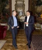 Renzi discuss global, European issues with Britain's Blair