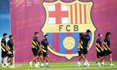 Soccer: Barcelona given transfer ban by FIFA