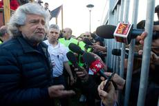 Grillo calls for funds ahead of European vote