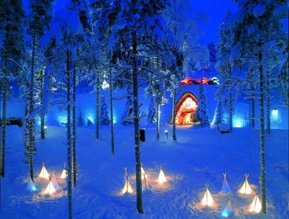 Immagini Del Villaggio Di Babbo Natale.In Viaggio Con Santa Klaus In Viaggio Ansa It