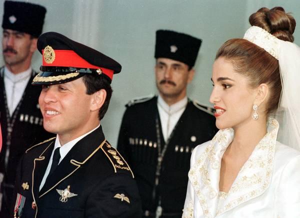 Matrimonio In Giordania : Photostory i anni di rania giordania