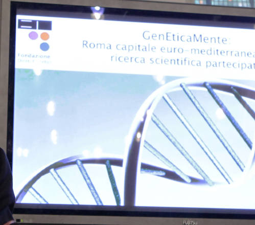RICERCA: GENETICAMENTE, NASCE POLO EUROMEDITERRANEO [ARCHIVE MATERIAL 20110125 ]