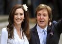 Paul McCartney , 69 anni ha pronunciato oggi il suo terzo si sposando questo pomeriggio la ricca ereditiera americana Nancy Shevell
