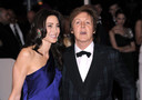 Paul McCartney e la futura moglie Nancy Shevell
