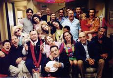 Il cast di 'Un medico in famiglia' (foto ANSA)