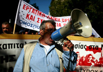 Scioperi in Grecia