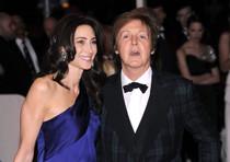 Paul McCartney e la futura moglie Nancy Shevell