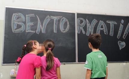 Il primo giorno di scuola per gli alunni dell'Istituto Comprensivo Padre Gemelli di Torino